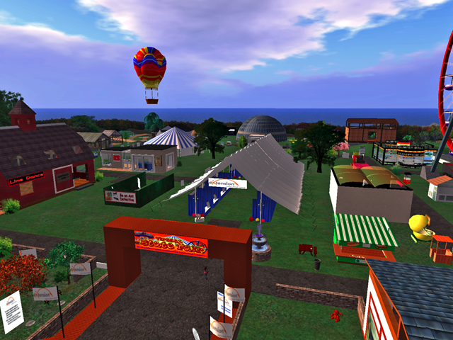 Navigate to Virtual State Fair
